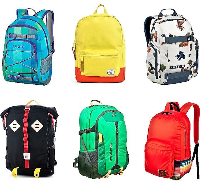 backpacks:dakine,herschel,burton,topo, patagonia,roxy